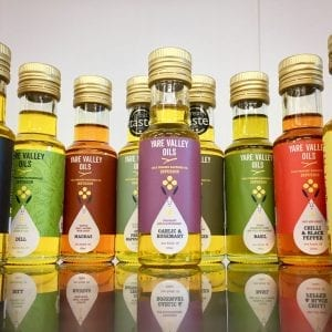 Rapeseed oil infusions